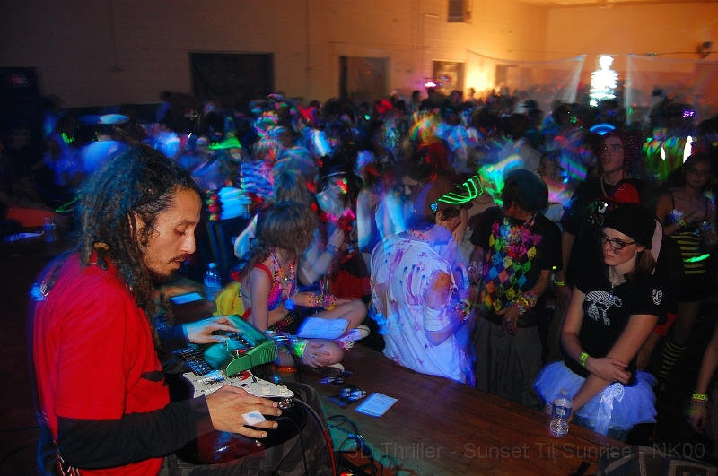 rave theme party